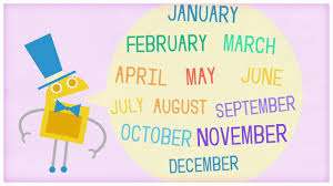 time twelve months of the year by storybots