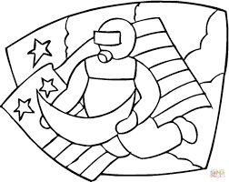 astronaut coloring pages coloring page