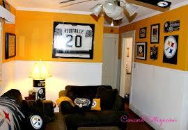 Steelers Bathroom Set Pittsburgh Steelers Family Room Steelers Decor Football Room