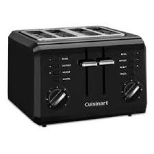 Cuisinart Toaster 4 Slice Best Black Toaster Out Of Top 13