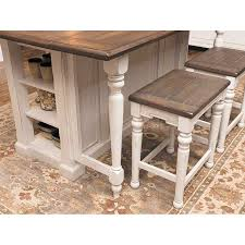sunny designs 1016fc bourbon county kitchen island in french