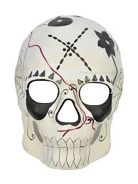 day of the dead full face mask male price 22 99 sugar skull