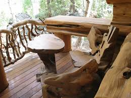 Outdoor Furniture Ideas Awesome Outdoor Log Furniture All Home Decorations