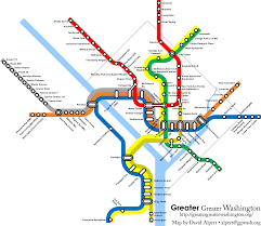Dc Metro Silver Line Map by Fantasy Transit Maps Map Metro Subway Architect Urban