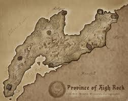 Glenumbra Treasure Map High Rock The Imperial Library