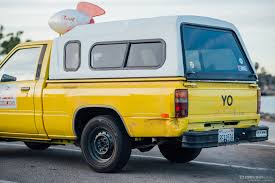 yellow toyota truck to infinity and beyond the pizza planet truck in real life