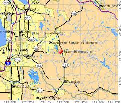 enumclaw wa map black washington wa 98010 98022 profile population