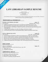 Law Resume Samples by Law Librarian Resume Sample Http Resumecompanion Com Resume