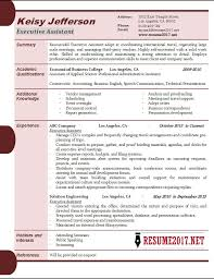 Sample Administrative Assistant Resume by Executive Assistant Resume Samples 2017 U2022