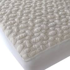 Waterproof Pads For Beds 40 Winks Pebble Puff Cotton Mattress Pad Free Shipping Today