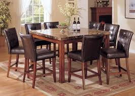 Cherry Dining Room Tables Acme 07380 Bologna 9pcs Brown Cherry Dining Set 07380