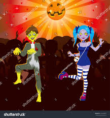 halloween dance images boy dancing zombie disco halloween stock vector 114430405