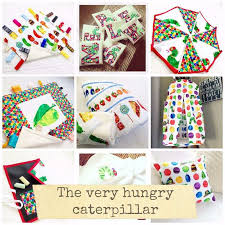 Hungry Caterpillar Nursery Decor The Hungry Caterpillar Baby Nursery Bedding And Handmade Baby