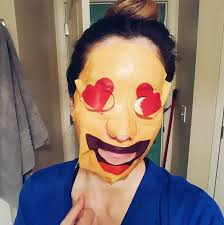 emoji mask emoji masks are legit a thing whatruwearing