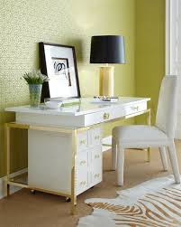 gold and white writing desk gifts for a fabulous home gold and white inspiration ashley lovely