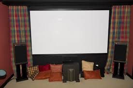 home theater curtains diy home theater 1 u2013 projector people news