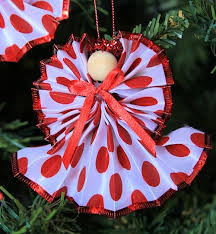 41 best ribbon ornaments images on crafts