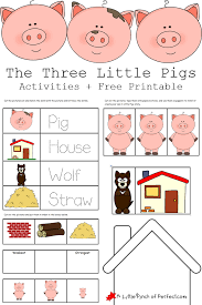 3 pigs activities free printables imprimibles