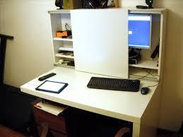 Ikea Hacker Standing Desk by Computer Desk Ikea Hack Muallimce