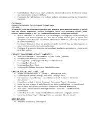 Resume For Board Of Directors Port Of Portland News Release U0026 Finalist Resumes Mcdermott