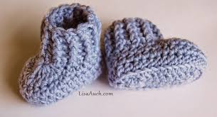 free pattern 10 minutes crochet booties for babies