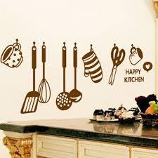 dessin ustensile de cuisine dessin animé ustensiles de cuisine stickers muraux achat vente