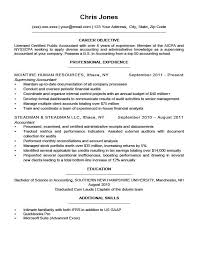 Best Resume Objective Samples by College Application Resume Objective Best Resume Collection