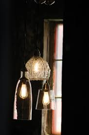 Pendant Light With Shade by Vintage Inspired Pendant Lamp With Wire U0026 Glass Shade