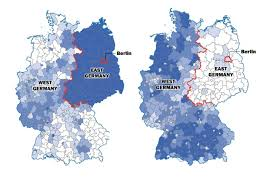 Post Ww2 Map The Berlin Wall Fell 25 Years Ago But Germany Is Still Divided