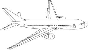 airplane drawing