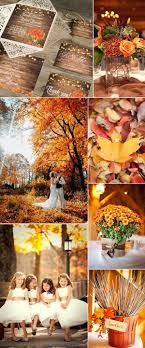 autumn wedding ideas top 10 fall wedding color ideas for 2017 trends weddings