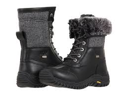 ugg s adirondack boot ugg s adirondack tweed boots black mount mercy