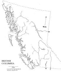 blank political map of canada columbia blank map