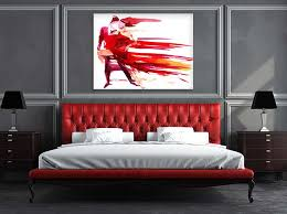 Red Bedrooms Decorating Ideas - bedroom decorating ideas wall art prints