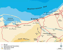 Egypt On Map Inverse Modeling Of Groundwater Flow Of Delta Wadi El Arish