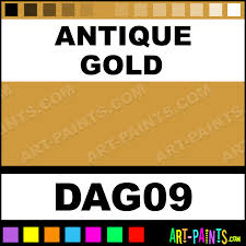 antique gold acrylic enamel paints dag09 antique gold paint