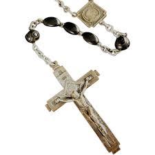 italian rosary italian deco rosary from vintagecatholic on ruby