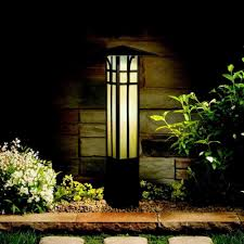 Craftsman Style Outdoor Lighting by Mission Style Bollard Path Light Path Lights Lights And Glass