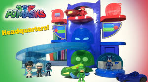 pj masks headquarters catboy gekko owlette romeo night ninja luna