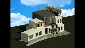 Modern House Modeling In Revit Architecture 2017 Youtube Revit Architecture House Design