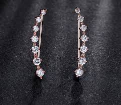 earring styles fashion high quality names of earring styles cuff zircon earring