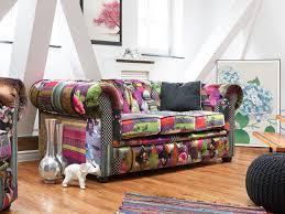 canapé chesterfield violet canapé style chesterfield beau canapé canapé patchwork polyester