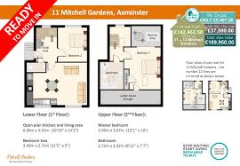 11 mitchell gardens 2 bed duplex apartment axminster homes