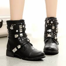 cool motorbike boots unique womens boots yu boots