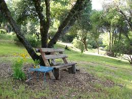 Old Park Benches How To Build Simple Garden Benches For Free Flea Market Gardening