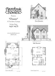 cottage blueprints storybook cottage home plans house of sles style eplans