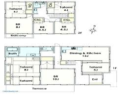 house design free traditional japanese house layout floor plans apartments style