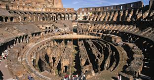 best way to see the colosseum rome tourists in the colosseum in rome architecture and