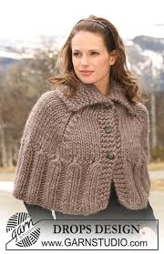 drops design poncho novelette drops 116 19 free knitting patterns by drops design