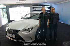 lexus rcf calgary lexus malaysia launches all new lexus rc 350 and rc f coupe